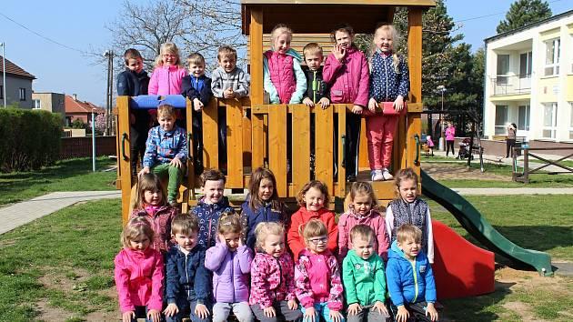 Mateřská škola v Potěhách. Třída Motýli.