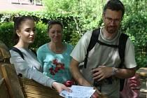 Putování turistů se konalo napříč okresy.