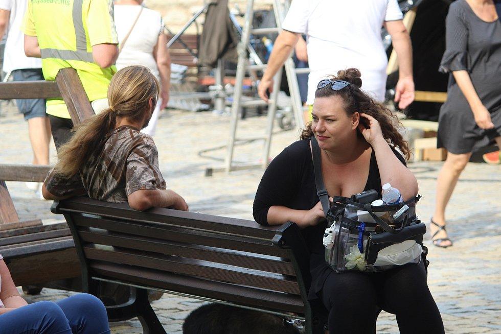 Natáčení pohádky v Kutné Hoře.