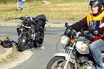 Nehoda na křižovatce u Alberta v Kutné Hoře