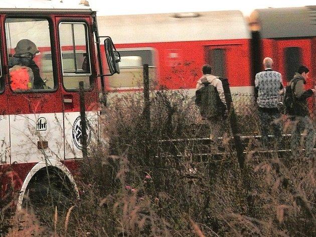 Tragická železniční nehoda u Sandberku