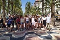 Studenti Církevního gymnázia navštívili španělské město Alcoy.