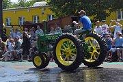 Pradědečkův traktor opět nabídl zajímavou podívanou