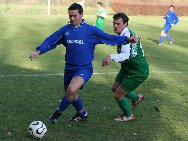 Fotbal III. třída: Suchdol B - Horky 4:1, neděle 9. listopadu 2008