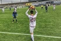 Fotbalové utkání mladšího dorostu U17 na Strahově: Sparta Praha B - Čáslav 7:1.