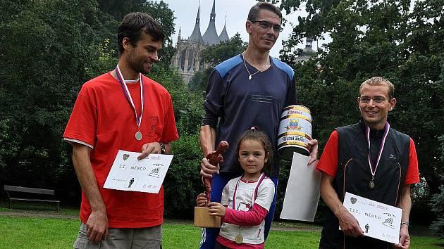 2. ročník běhu Dačického 12, 14. srpna 2010.