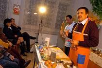 Vaření v Mozaice, tentokrát s malířem Vladimírem Zubovem