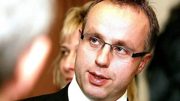 Poslanec Ondřej Plašil.