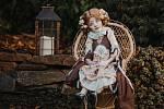 Originální panenky ve svém volném čase vyrábí Alena Süsserová z Kutné Hory.