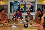 Tiskovka k národnímu poháru horských kol, čtvrtek 6. srpna 2009
