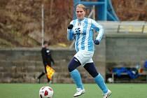 Foto z čáslavského fotbalu žen.