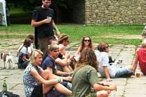 Návštěvníci festivalu