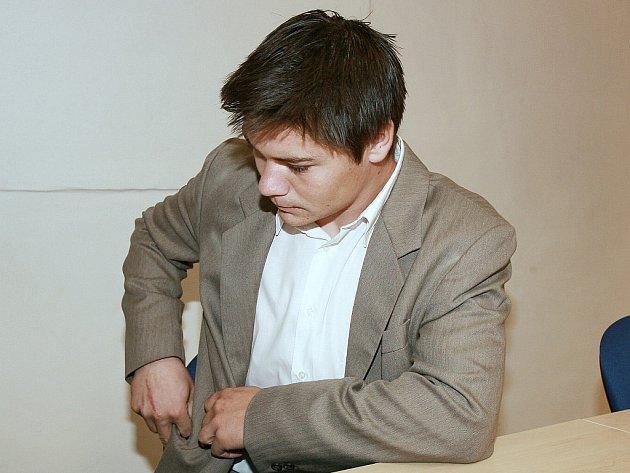 Obžalovaný Jan Rubič.