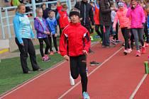 Na kutnohorské Olympii ve středu závodily atletické přípravky