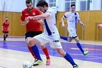 19. kolo CHANCE futsal ligy: Benago Zruč n. S. - FC Tango Brno 4:2.
