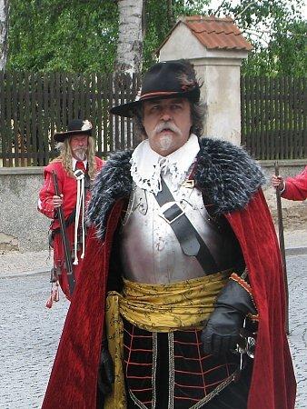 Josef Langr - jednatel skupiny Magna Moravia a velitel gardy mušketýrů