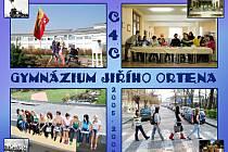 Maturitní tablo třídy C4C z Gymnázia Jiřího Ortena v Kutné Hoře.