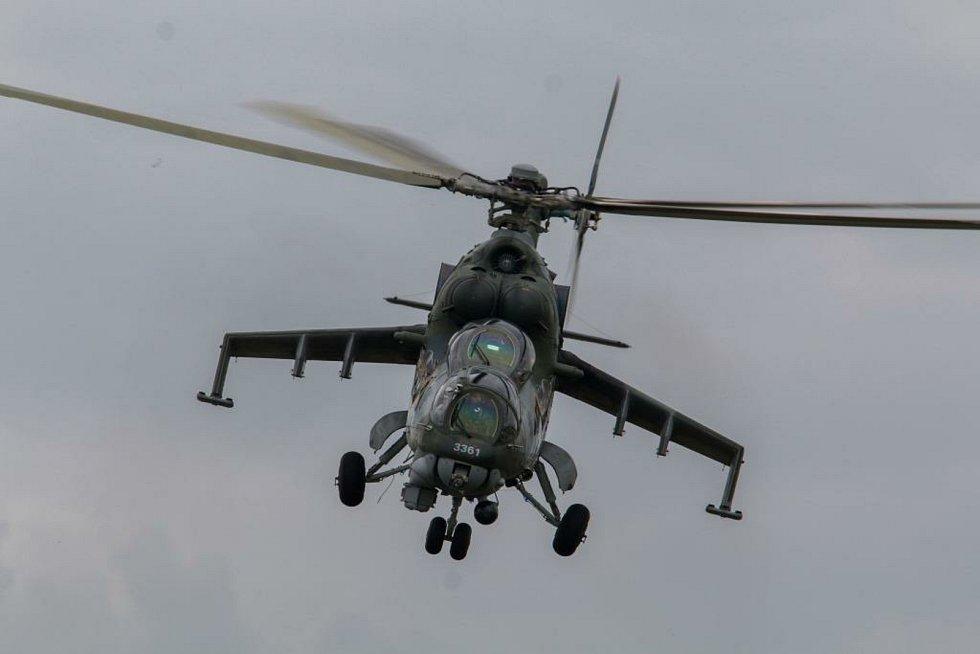 Mezinárodní taktické cvičení Ample Strike 2020: vrtulníky čáslavské 22. základny nebudou chybět.