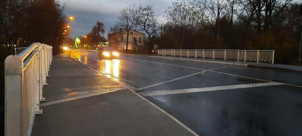 Rekonstruovaný most Polepka.