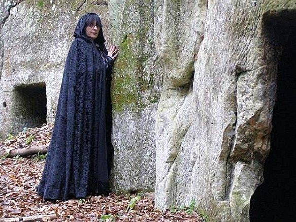 Gita Pechová se zabývá věštectvím a čarodějnictvím