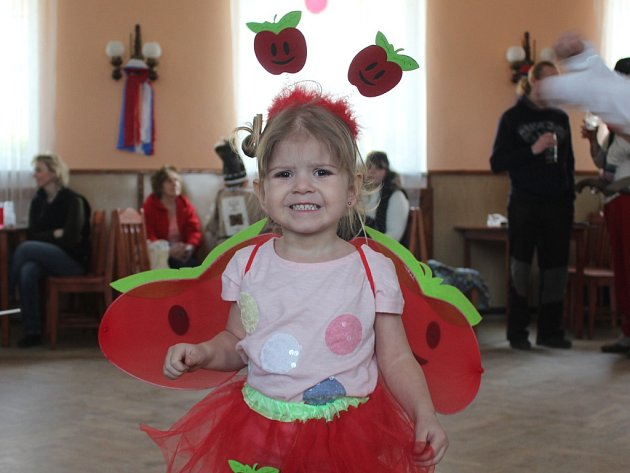 Dětský karneval ve Vlastějovicích