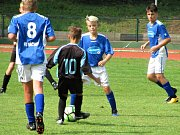 Česká divize starších žáků U14, skupina C: FK Čáslav - FK Náchod 14:2 (10:1).