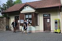 Veřejné záchody v Zámecké ulici v Sedlci.