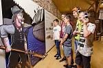 Zámek Zruč nad Sázavou nabízí různorodé expozice s možností kreativního vyžití. Expozice Příběh řeky Sázavy