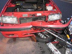 Nehoda v Církvici
