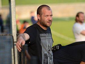Fotbalový trenér Radim Truksa.