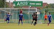 Z pohárového utkání TJ Sokol Libiš - FK Čáslav 0:2 (0:2).