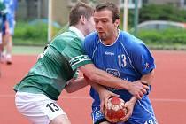 Utkání Společné regionální ligy házené mezi Kutnou Horou a Zručí, 23. května 2010.