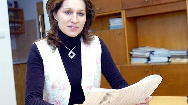 Starostka Chotusic Ludmila Lehetová.
