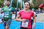 Ludmila Formanová na desátém ročníku běžeckého závodu Vokolo priglu.