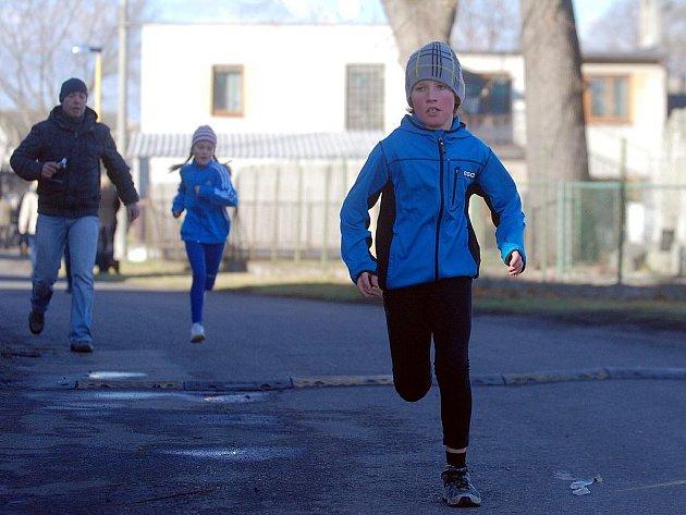 Silvestrovský běh ve Svatém Mikuláši. 31. 12. 2011