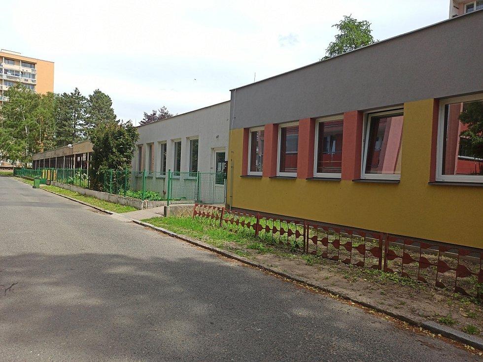 Objekt bývalé mateřské školy v Trebišovské ulici v Kutné Hoře.