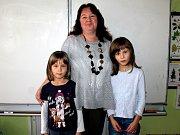 Základní škola Vlastějovice, I. třída s učitelkou Olgou Sýsovou