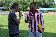Na fotbalový kemp do Kutné Hory zavítal Tomáš Řepka.