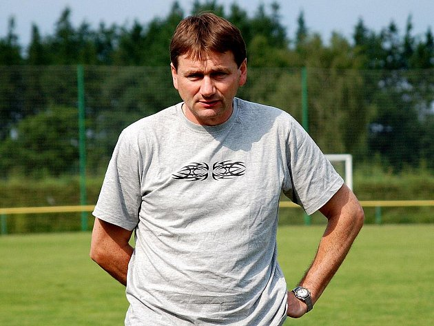 Trenér Bohuslav Šváb.