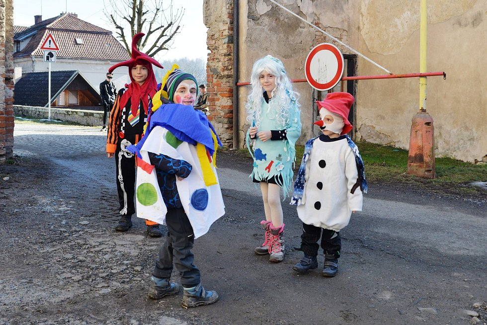 Masopust v Ratajích nad Sázavou.