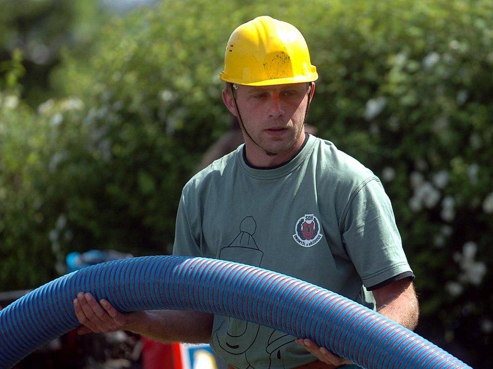 Kutnohorská hasičská liga začala v sobotu v Suchdole.