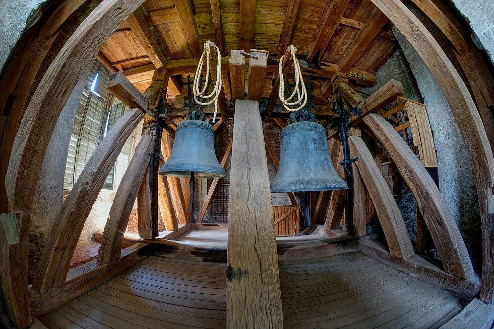 Svatobarborské zvony, zleva Michal a Ludvík