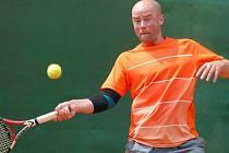 Tenisové utkání Kutné Hory B a C, 26. června 2010.