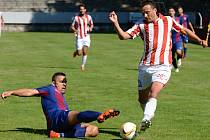 3. kolo Divize C: Kutná Hora - Přední Kopanina 2:1 (1:0), 27. srpna 2016.