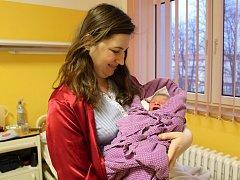 Prvním miminkem narozeným v čáslavské porodnici je Eduard Svoboda.