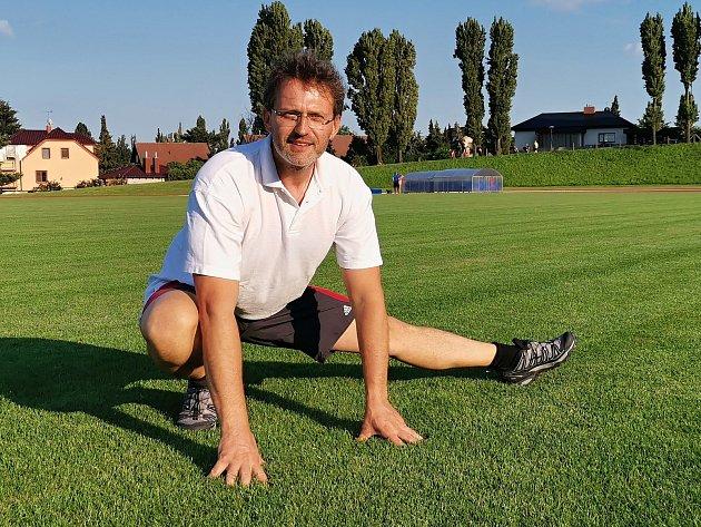 Atletický trenér Jiří Němeček.