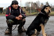 Milovník psů Roman Čonka.