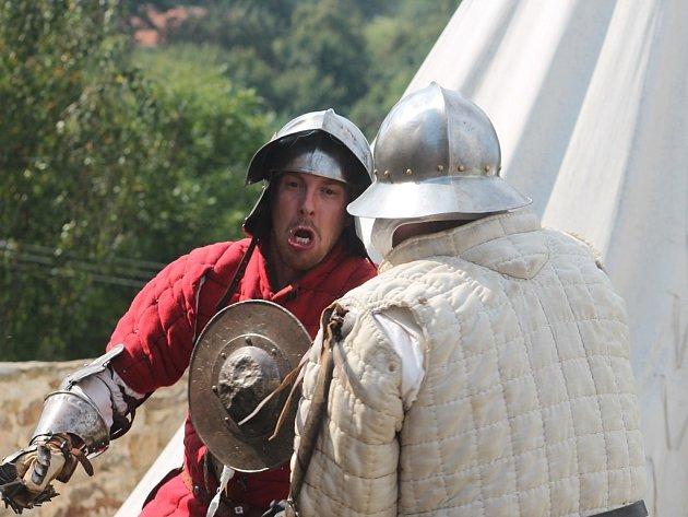 Bitva o tvrz v Malešově 6. září 2014