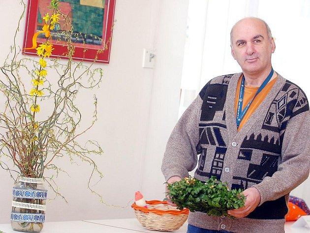 Velikonoční výstava se koná v Domově Barbora v Kutné Hoře.