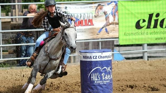 Sportovní den s koňmi na ranči Dalu Kozohlody.
